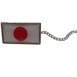 Japan Flag Tie Tack